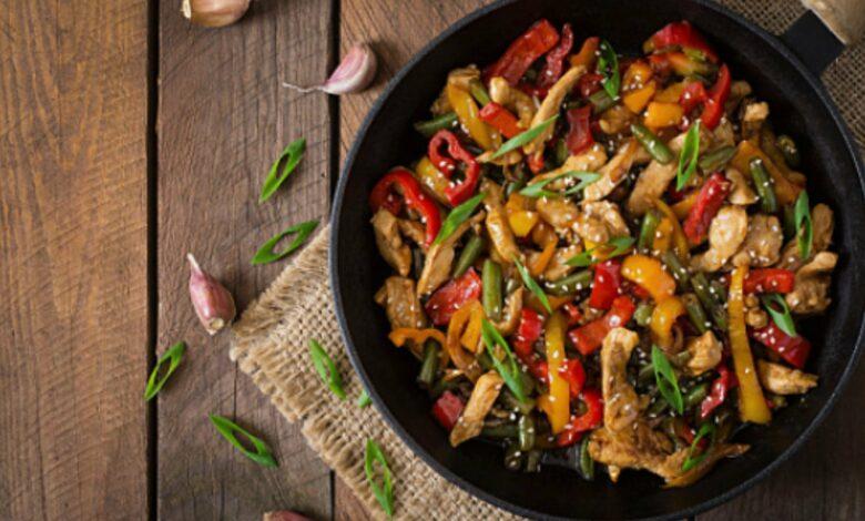 Verduras salteadas al más puro estilo chino 1