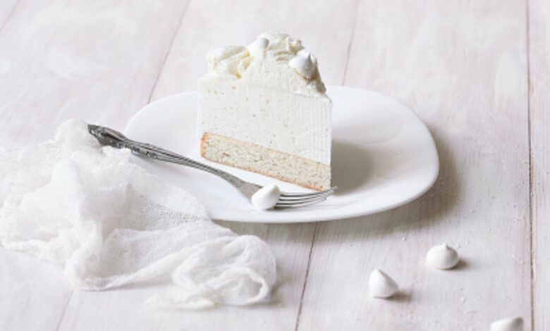 White cake o bizcocho blanco: receta fácil 1