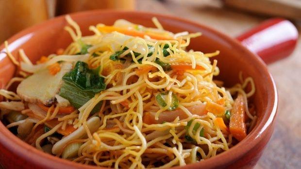 Chow mein de verduras: una receta original China 2