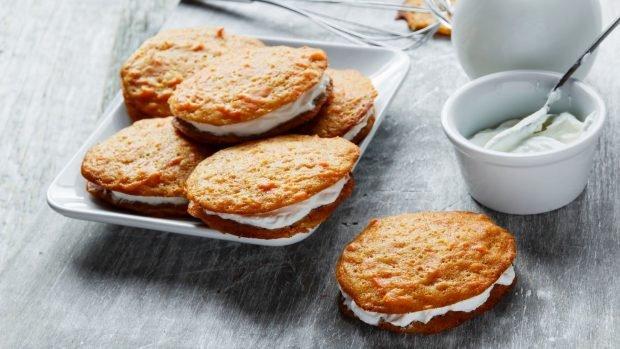 Galletas de tarta de zanahoria, una receta dulce muy original 2