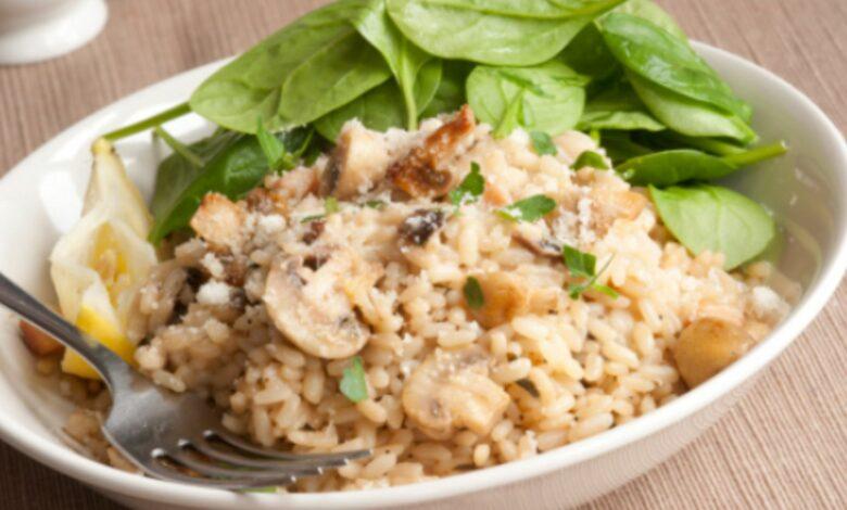 Receta de arroz con champiñones al estilo casero 1