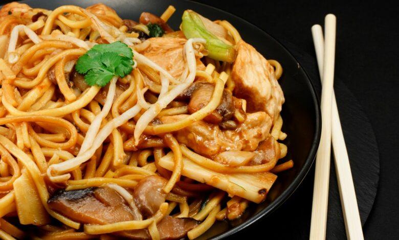 Chow mein de verduras: una receta original China 1
