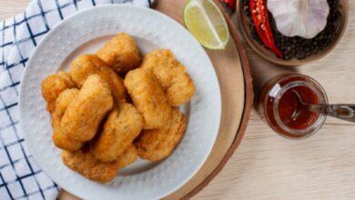 Croquetas de jamón light, receta saludable con harina de avena 8