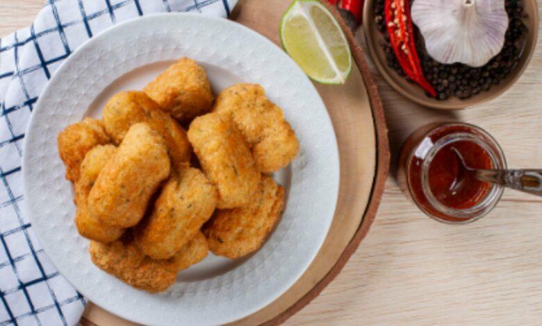 Croquetas de jamón light, receta saludable con harina de avena 1