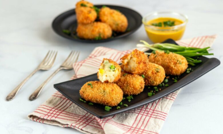 Croquetas de queso y mostaza, receta del aperitivo más deseado y fácil de preparar del mundo 1