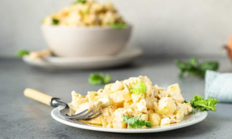 Ensalada fría de patata y apio, una receta ideal para el verano 1