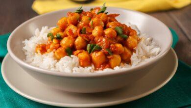 Garbanzos con cordero al curry, una receta de Karlos Arguiñano 5