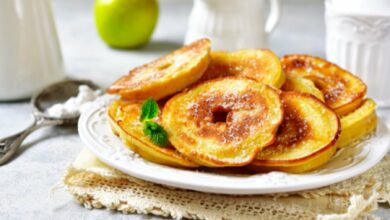 Manzanas asadas al microondas, receta del postre saludable más rápido 9
