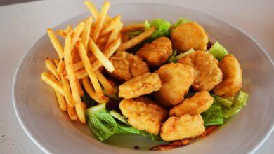 Nuggets de pollo caseros crujientes con freidora sin aceite 9
