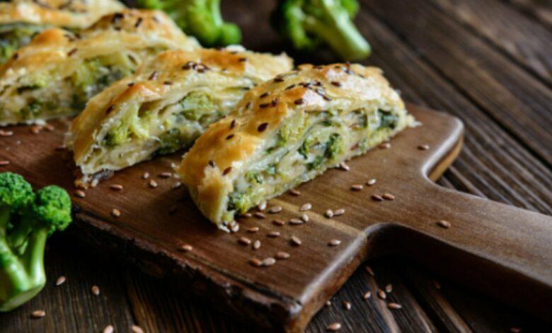 Pastel de brócoli con queso al microondas, receta saludable lista en 15 minutos 1