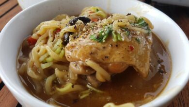 receta de un plato de fideos japonés 5
