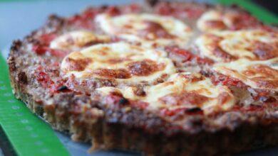 pizza con base de carne para dietas proteicas y cetogénicas 5