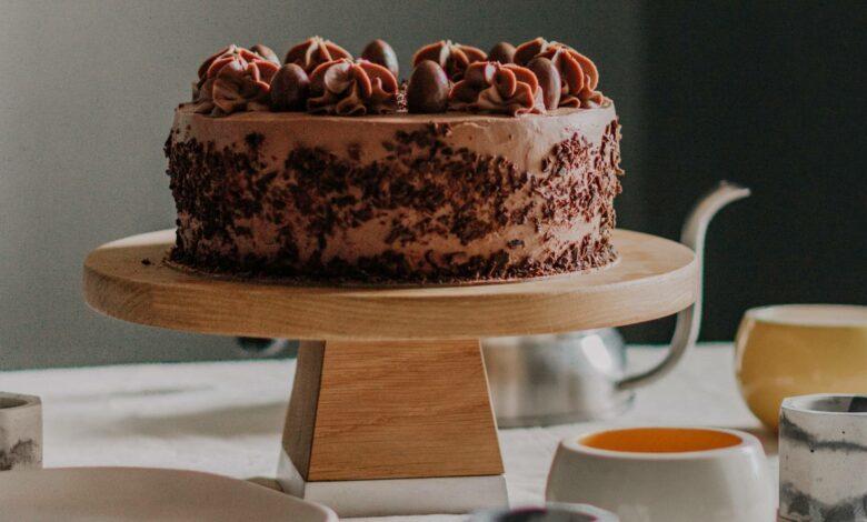 Receta de pastel helado de chocolate 1