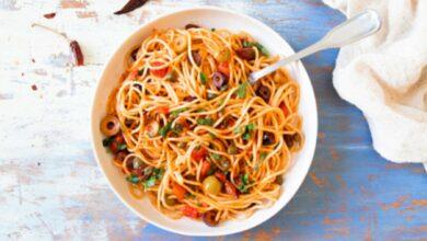 Salsa putanesca, receta auténtica para disfrutar de unos espaguetis 4