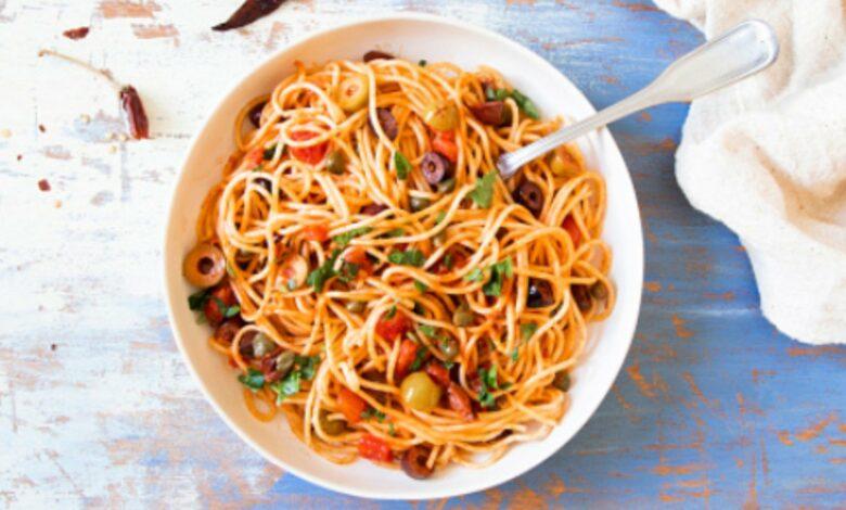Salsa putanesca, receta auténtica para disfrutar de unos espaguetis 1