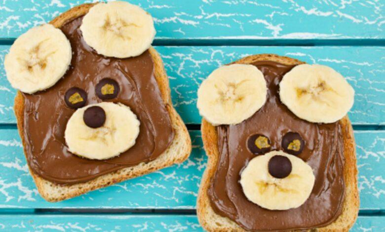 Sándwich de chocolate y plátano, receta de la merienda más rápida y saludable 1