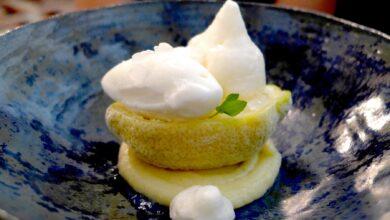 Sorbete de limón, lima y miel, receta casera 2
