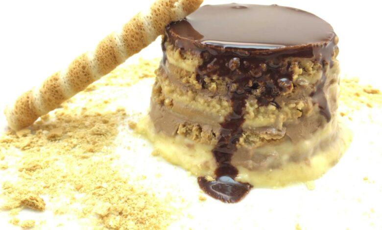 Tarta de chocolate y galletas de la abuela: receta casera 1