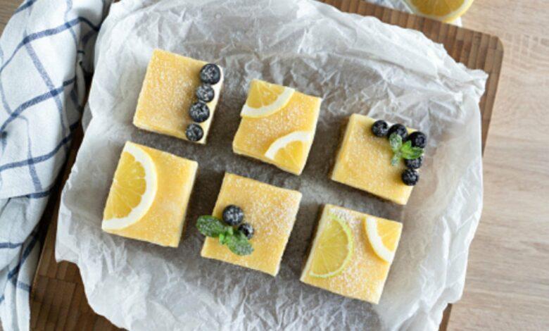 Tarta de limón fría, receta de postre refrescante listo en 5 minutos 1