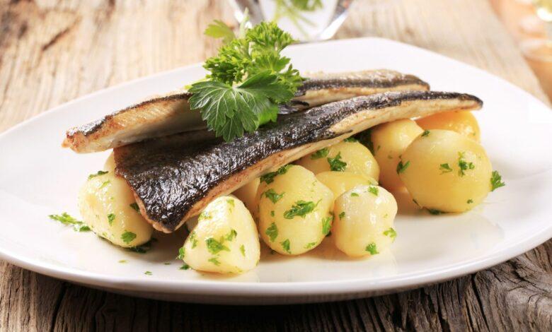 Trucha con patatas al microondas, una receta sana y deliciosa 1