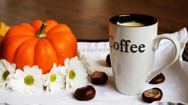 Calabaza y cafe