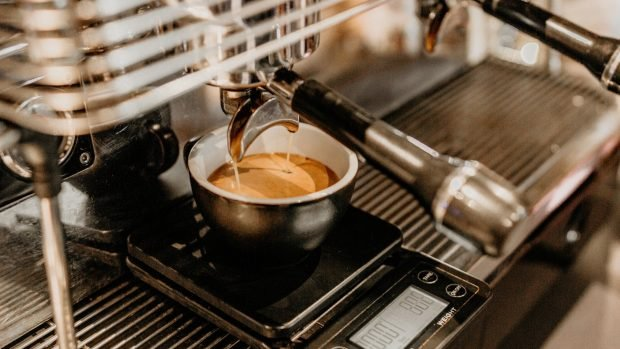 Sin café al horno y flan de galleta