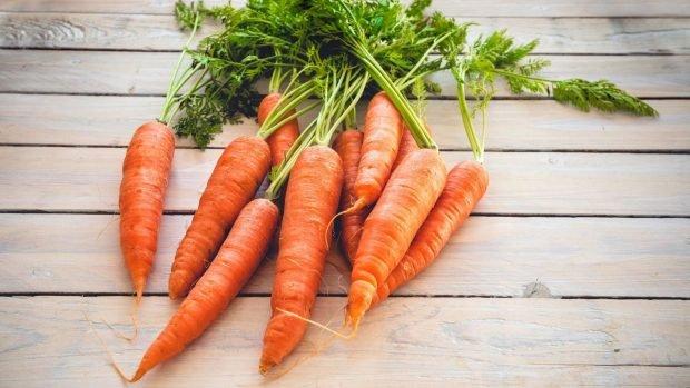 Salmorejo de zanahoria y tomate