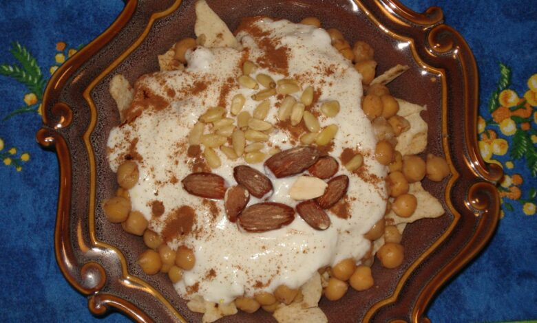 Berenjena con tomate y yogur al estilo árabe 1