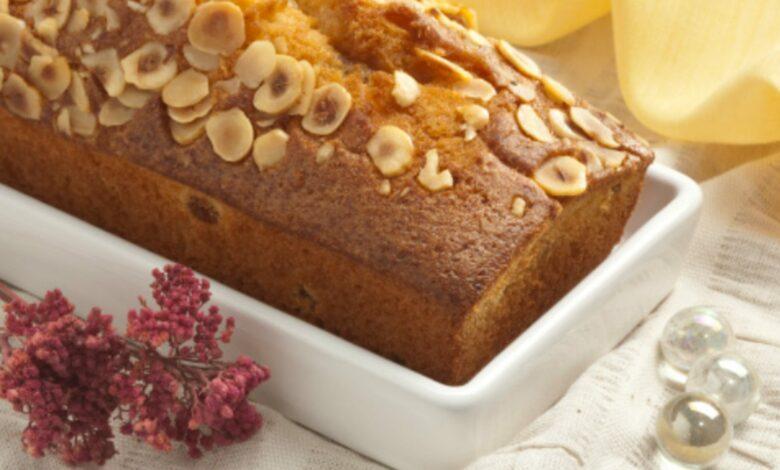Bizcocho de plátano y avellanas, receta de un dulce saludable fácil de preparar 1