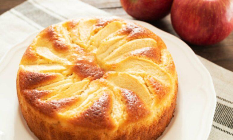 Receta de Bizcocho de manzana y yogur 1