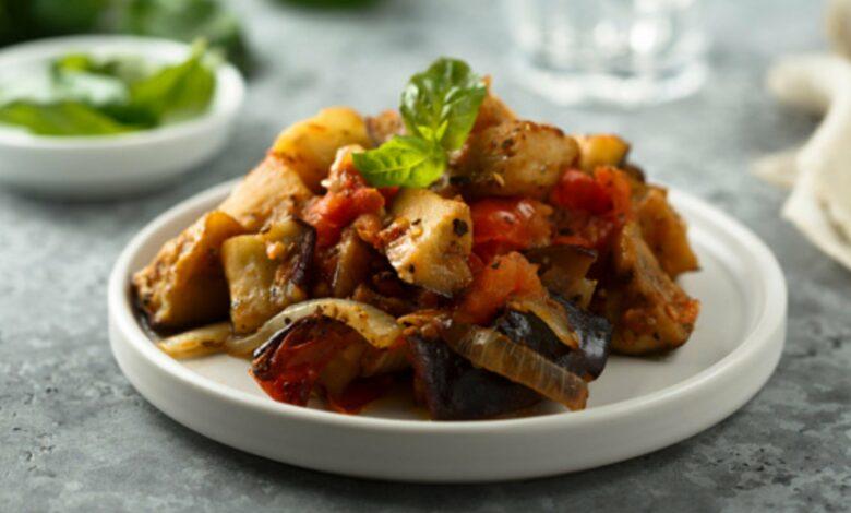 Caponata siciliana, receta tradicional 1