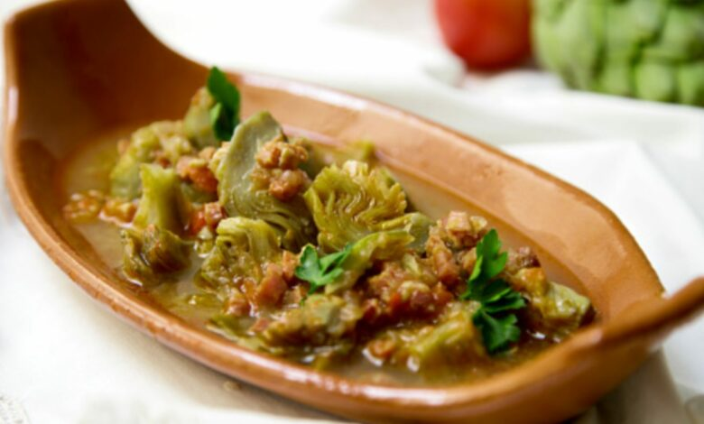 Guiso de cerdo con alcachofas: receta perfecta para estofado 1
