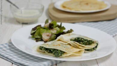 Crepes de espinacas y queso de cabra: ¡Quedarán impresionantes! 11