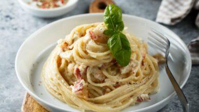 Espaguetis a la pimienta con jamón ibérico, receta fácil de preparar y deliciosa 4