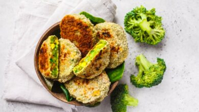 Hamburguesa de pollo y brócoli: receta deliciosa 6