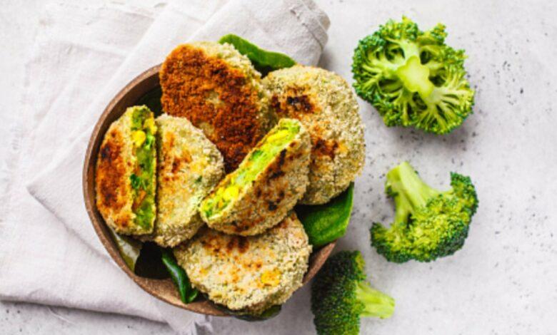 Hamburguesa de pollo y brócoli: receta deliciosa 1