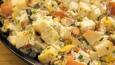 Kamdi- cha, ensalada de patatas coreana 8