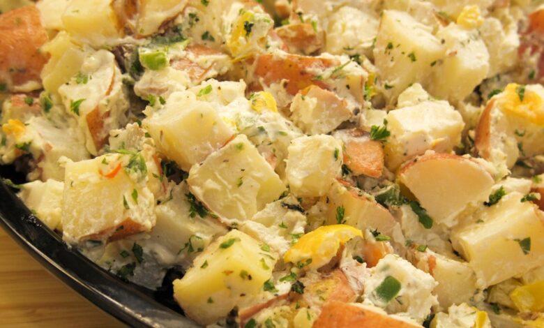 Kamdi- cha, ensalada de patatas coreana 1