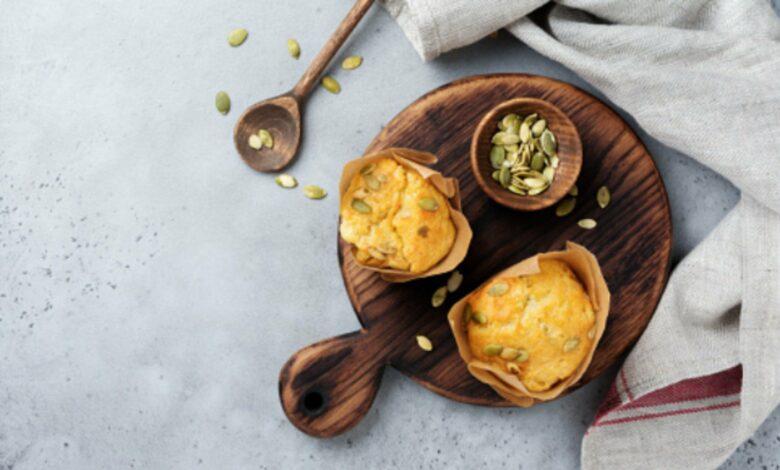 Muffins de jamón york y queso: receta salada y saludable 1