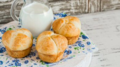 Receta de pan de leche esponjoso, más tierno y ligero 3