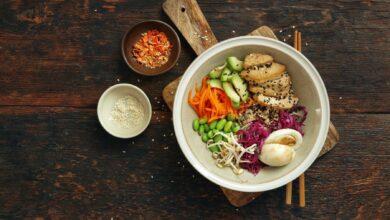 Poke bowl de tofu, una receta hawaiana para vegetarianos 6