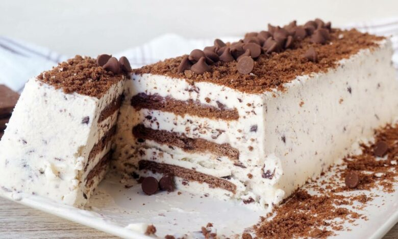 Receta de tarta helada romántica 1