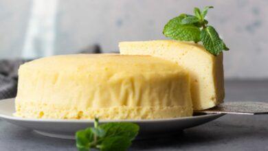 Tarta de Queso-Souflé, receta para un dulce esponjoso fácil de preparar 3