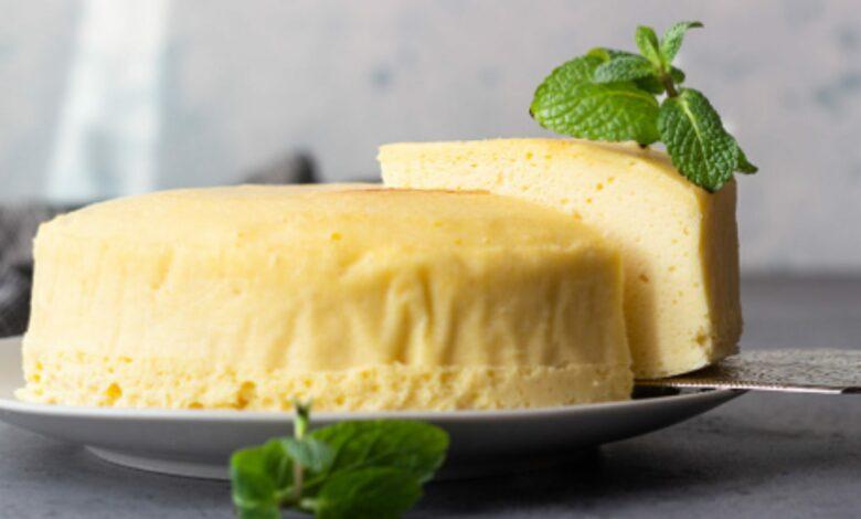 Tarta de Queso-Souflé, receta para un dulce esponjoso fácil de preparar 1