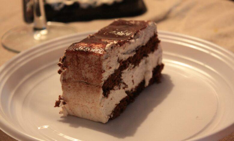 Tarta helada de tiramisú 1