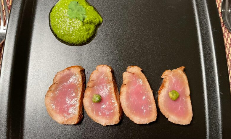 Tataki de salmón, receta casera 1