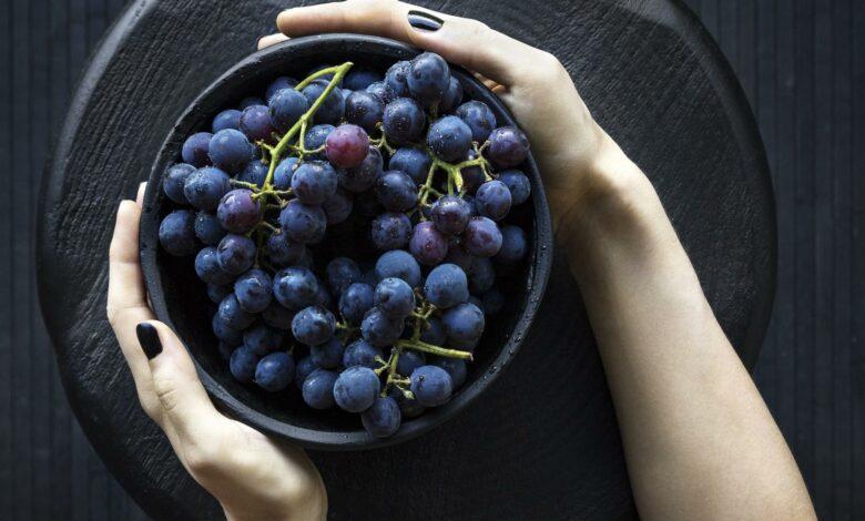 Torta crocante de uvas negras 1
