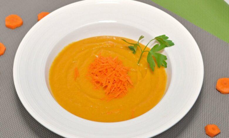 Zanahorias a la crema, en olla a presión, 10 minutos 1