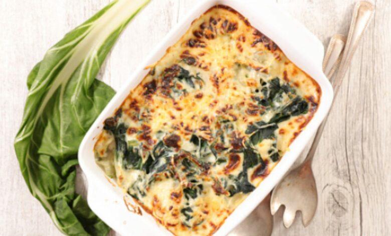 Acelgas gratinadas con queso, receta para disfrutar de la verdura 1
