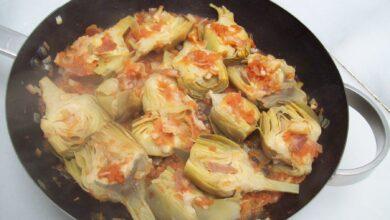 Alcachofa caponata, receta casera 3